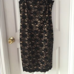 Jones New York Dresses - Jones New York Black Lace Cocktail Dress